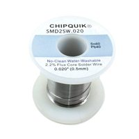 Chip Quick Solder Wire 60/40 Tin/Lead no-clean .020 8 ounces