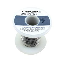 Chip Quick Solder Wire 62/36/2 Tin/Lead/Silver no-clean .020 8 ounces