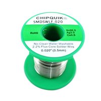 Chip Quick LF Solder Wire 96.5/3/0.5 Tin/Silver/Copper no-clean .020 8 ounces