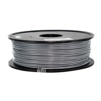 Inland 2.85mm Silver PLA 3D Printer Filament - 1kg (2.2 lbs)