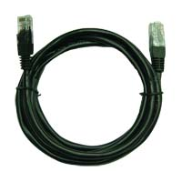 Inland Cat 5e Network Cable 7 ft. 5 Pack - Black