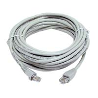 Inland CAT 5e Molded Boots Network Cables 25 ft. 5 Pack - Gray