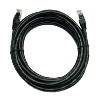 Inland Cat 6 Network Cable 14 ft. 5 Pack - Black