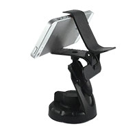 Inland ProHT Grip Clip Suction Dashboard/ Windshield Phone Mount - Black