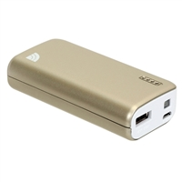 Inland 5,200mAh Power Bank - Gold