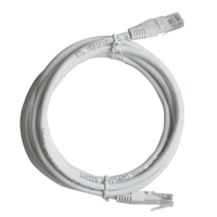 Inland CAT 6 Network Cable 7 ft. 5 Pack - White