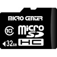 Micro Center 32GB microSDHC Card Class 10 Flash Memory Card with Adapter