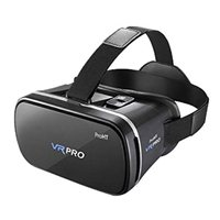 Inland Virtual Reality Headset 3D Video Movie Game Glasses with Anti Blue Film