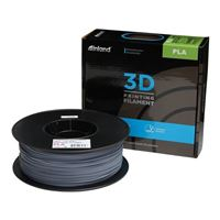 Inland 1.75mm Gray PLA 3D Printer Filament - 1kg Spool (2.2 lbs)