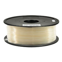 Inland 1.75mm Natural PLA 3D Printer Filament - 1kg Spool (2.2 lbs)