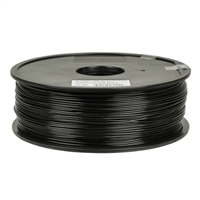 Inland 1.75mm Black ABS 3D Printer Filament - 1kg Spool (2.2 lbs)