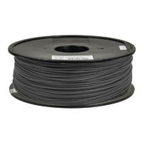 Inland 1.75mm Gray ABS 3D Printer Filament - 1kg Spool (2.2 lbs)