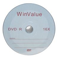 Inland WinValue DVD-R 16x 4.7GB/120 Minute 50 Pack