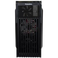 PowerSpec PCD-01 ATX Mid-Tower Computer Case - Black