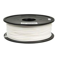 Inland 2.85mm White PETG 3D Printer Filament - 1kg. (2.2lbs.)
