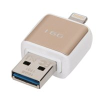 Micro Center 16GB Dual USB 3.1 Flash Drive for Apple Lightning Devices