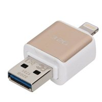 Micro Center 32GB Dual USB 3.1 Flash Drive for Apple Lightning Devices