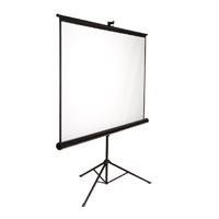 "Inland 84"" Portable Projection Screen"