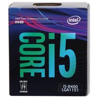 Intel Core i5-8400 Coffee Lake 2.8 GHz LGA 1151 Boxed Processor