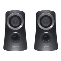 Logitech Z313 2.1 Speaker System - Black (Recertified)