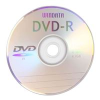 Windata DVD+R 16x 4.7 GB/120 Minute Not Printable Disc 100-Pack Shrink Wrap