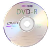 Windata DVD-R 16x 4.7GB/120 Minute 100 Pack
