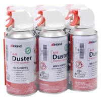 Inland 7oz Air Duster - 6 Pack