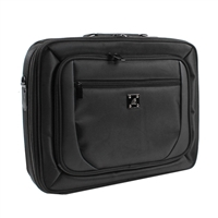 "Inland Laptop Briefcase Fits Screens up to 15.6"" – Black"