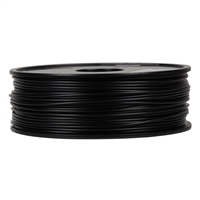 Inland 2.85mm Black ABS 3D Printer Filament - 1kg Spool (2.2 lbs)