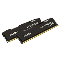 HyperX HyperX FURY 8GB 2 x 4GB DDR4-2400 PC4-19200 CL15 Dual Channel Desktop Memory Kit