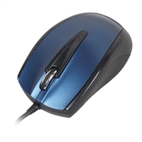 Inland USB Optical Mouse - Blue
