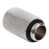 "Bitspower G 1/4"" 25mm Male to Female Extender - Silver"