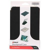Inland Shockproof Case for Apple iPad Mini 4 - Black