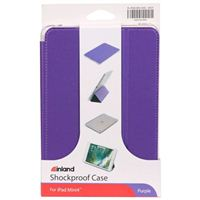 Inland Shockproof Case for iPad Mini 4 - Purple