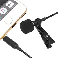Sabrent Clip-on Omnidirectional Lavalier Condenser Microphone