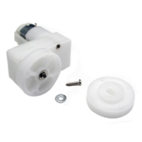Solarbotics GM9 Gear Motors Kit with Wheels and Brackets