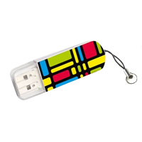 Verbatim 16GB Mini USB Flash Drive, Retro