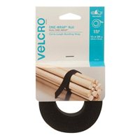 Velcro Roll 12 ft. x 3/4 in. - Black