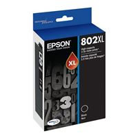 Epson T802XL120 DURABrite Ultra Black High Capacity Cartridge Ink