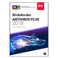 Bitdefender Antivirus Plus Bonus Edition - 3 Computers, 2 Years