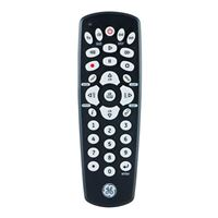 GE Universal Remote Control for Up to 4 Devices