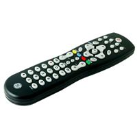 GE GE Universal Remote Control, 8 DVR Device Black