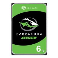 "Seagate BarraCuda 6TB 5400RPM SATA III 6Gb/s 3.5"" OEM Internal..."