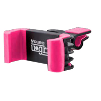 Aduro U-Grip Swivel Air Vent Phone Mount - Black/ Pink