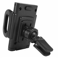 MacAlly Grip Clip Air Vent Phone Mount Adjustable - Black