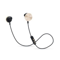 i.am+ BUTTONS Bluetooth Headphones - Black/Rose Gold