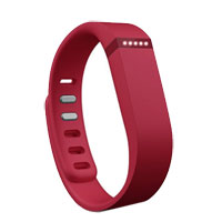 FitBit Flex Fitness Tracker - Red