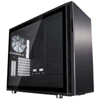 Fractal Design Define R6 Black Silent Midtower Case - Black