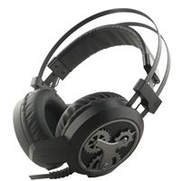 Inland Big Over-Ear Gaming headset - Black