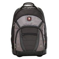 "Swiss Gear Synergy Wheeled Laptop Backpack fits Screens up to 16"" - Black"